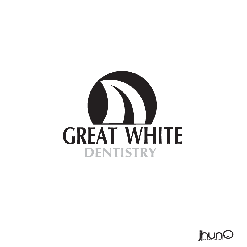 Logo Design by zesthar - Entry No. 135 in the Logo Design Contest Logo Design for Great White Dentistry.