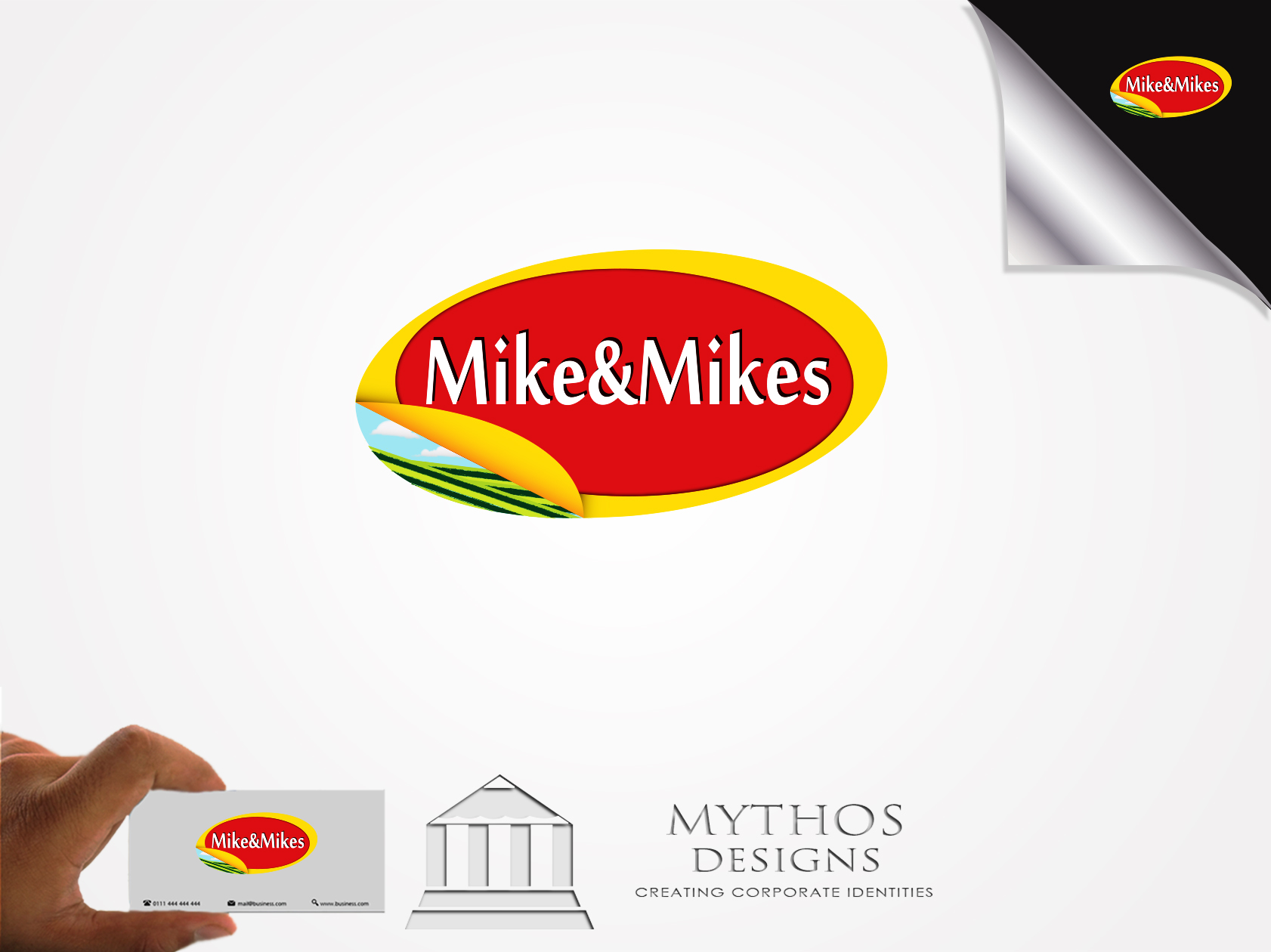 Logo Design by Mythos Designs - Entry No. 25 in the Logo Design Contest Captivating Logo Design for Mike and Mike's Inc..