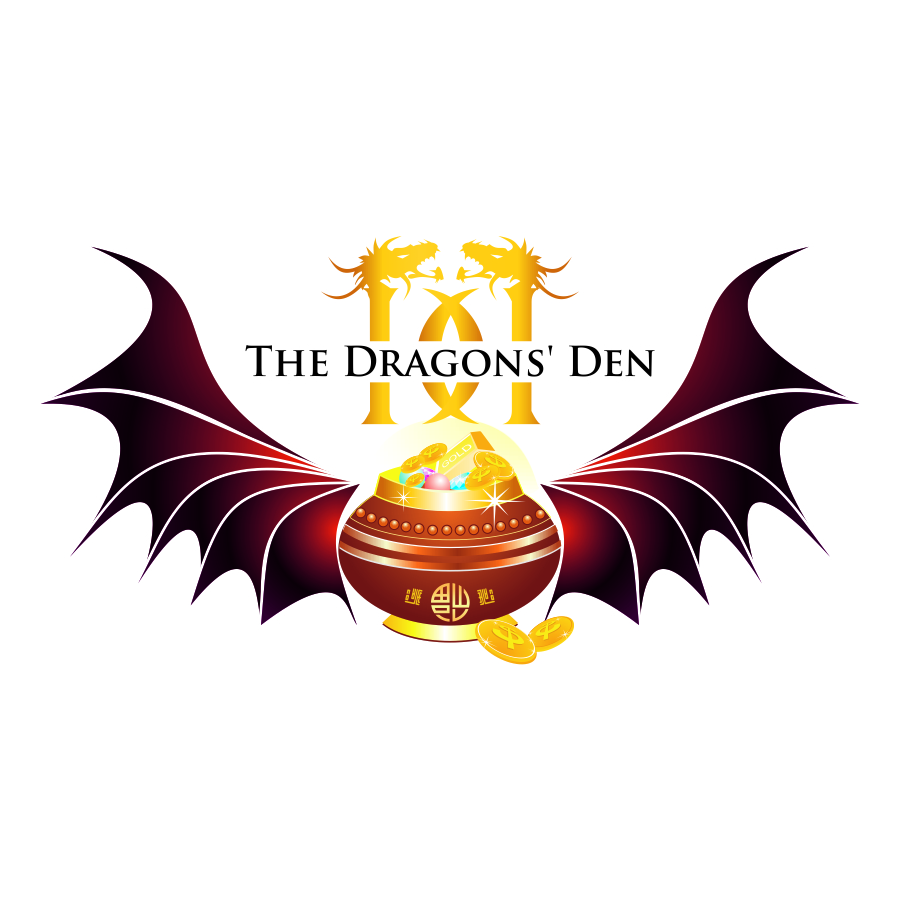 Logo Design by mare-ingenii - Entry No. 154 in the Logo Design Contest The Dragons' Den needs a new logo.