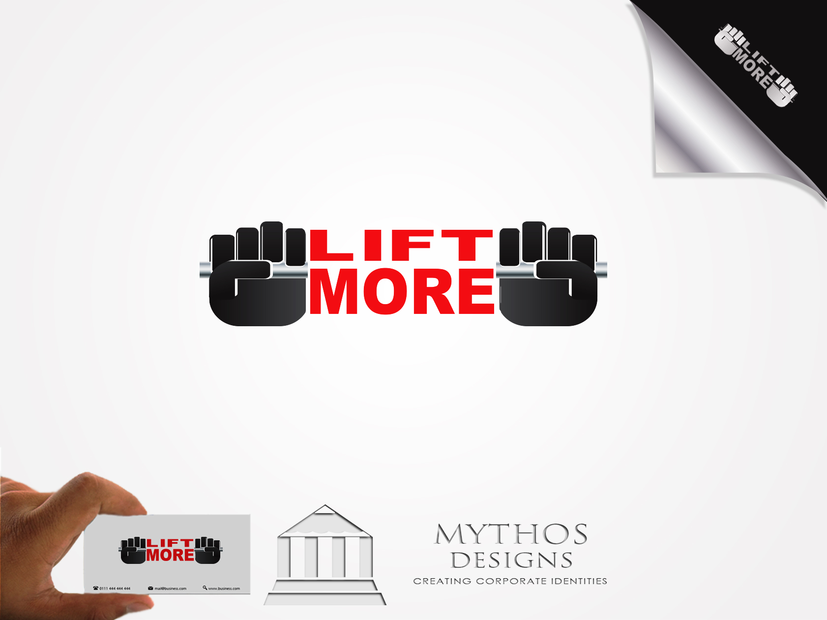 Logo Design by Mythos Designs - Entry No. 68 in the Logo Design Contest Unique Logo Design Wanted for Liftmore.