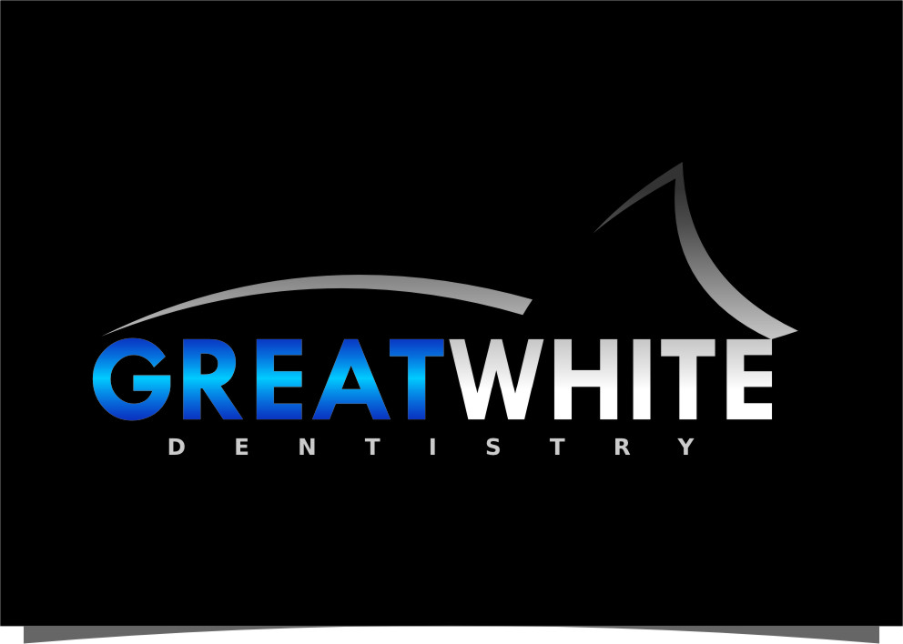 Logo Design by Ngepet_art - Entry No. 138 in the Logo Design Contest Logo Design for Great White Dentistry.