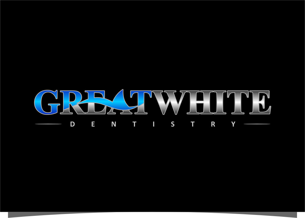 Logo Design by Ngepet_art - Entry No. 141 in the Logo Design Contest Logo Design for Great White Dentistry.