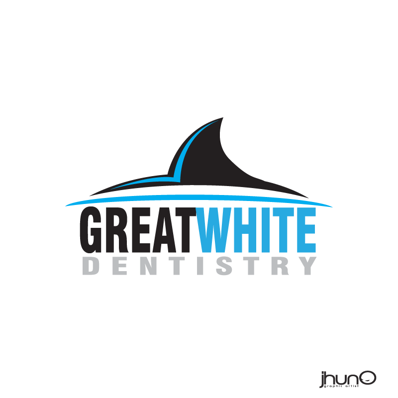 Logo Design by zesthar - Entry No. 142 in the Logo Design Contest Logo Design for Great White Dentistry.