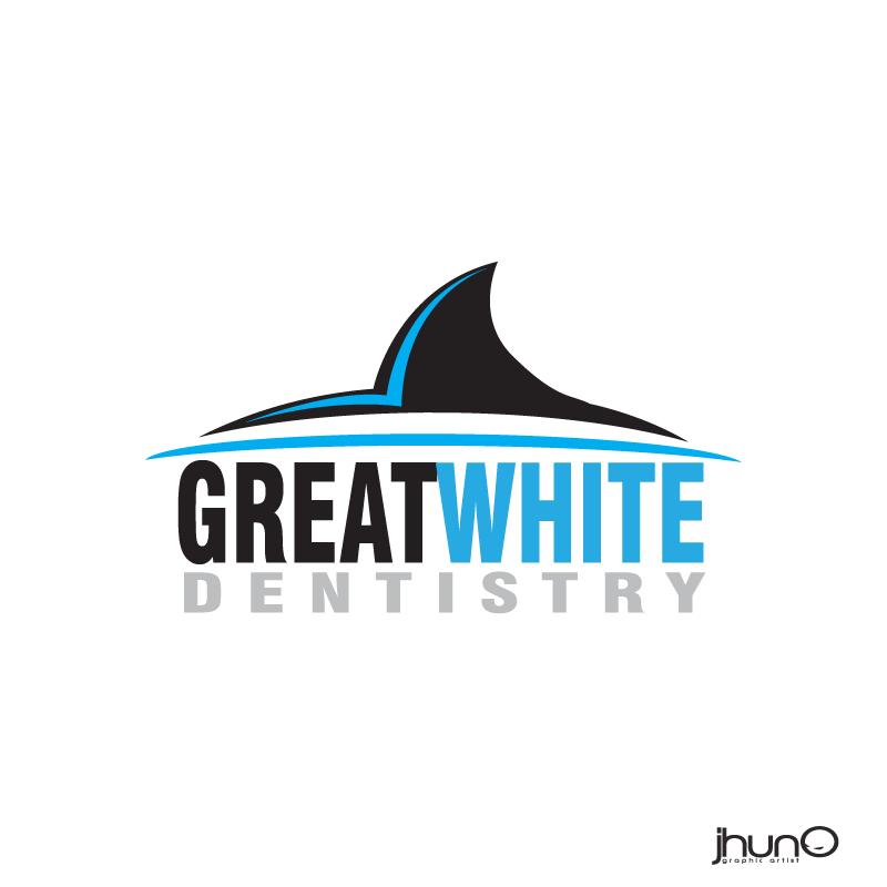 Logo Design by zesthar - Entry No. 142 in the Logo Design Contest Logo Design for Great White Dentistry.