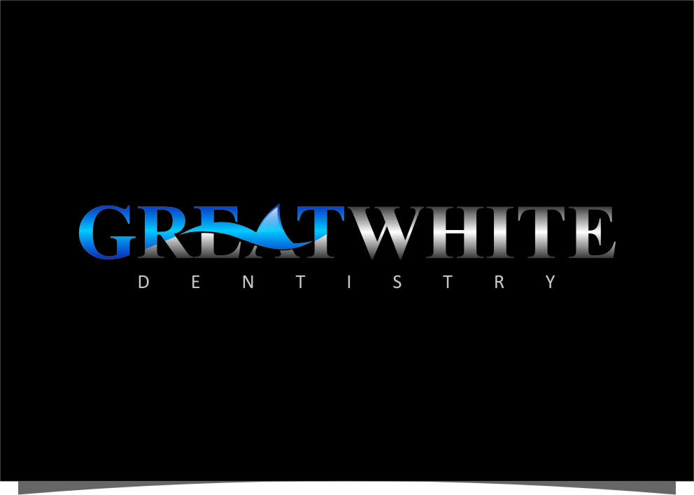 Logo Design by Ngepet_art - Entry No. 144 in the Logo Design Contest Logo Design for Great White Dentistry.