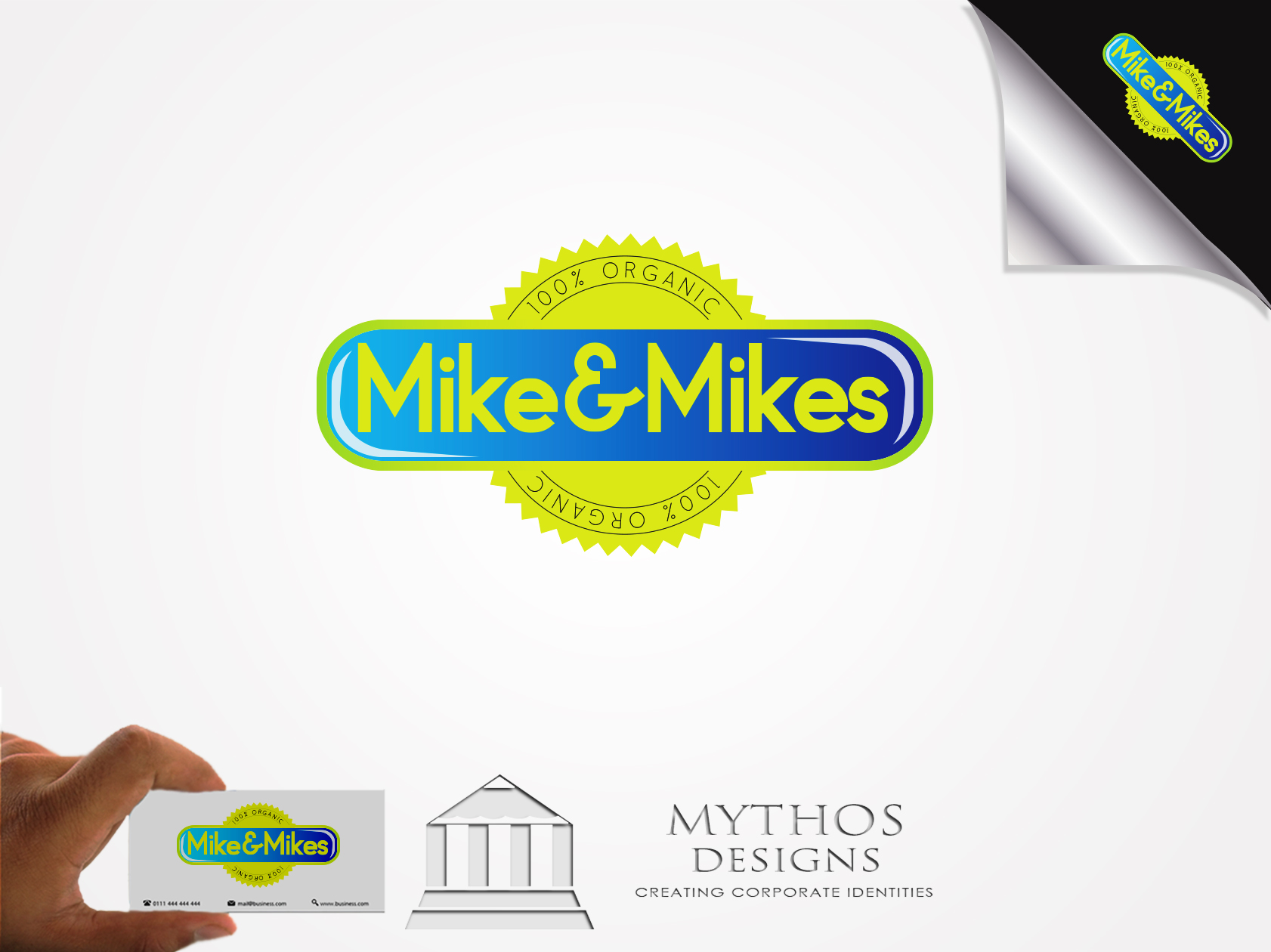 Logo Design by Mythos Designs - Entry No. 28 in the Logo Design Contest Captivating Logo Design for Mike and Mike's Inc..
