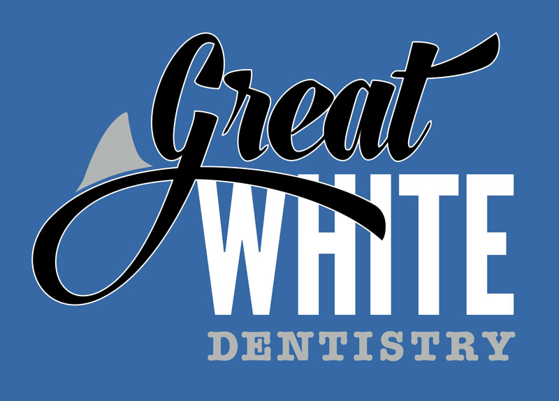 Logo Design by Private User - Entry No. 145 in the Logo Design Contest Logo Design for Great White Dentistry.