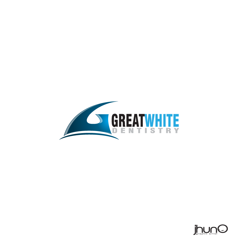 Logo Design by zesthar - Entry No. 147 in the Logo Design Contest Logo Design for Great White Dentistry.