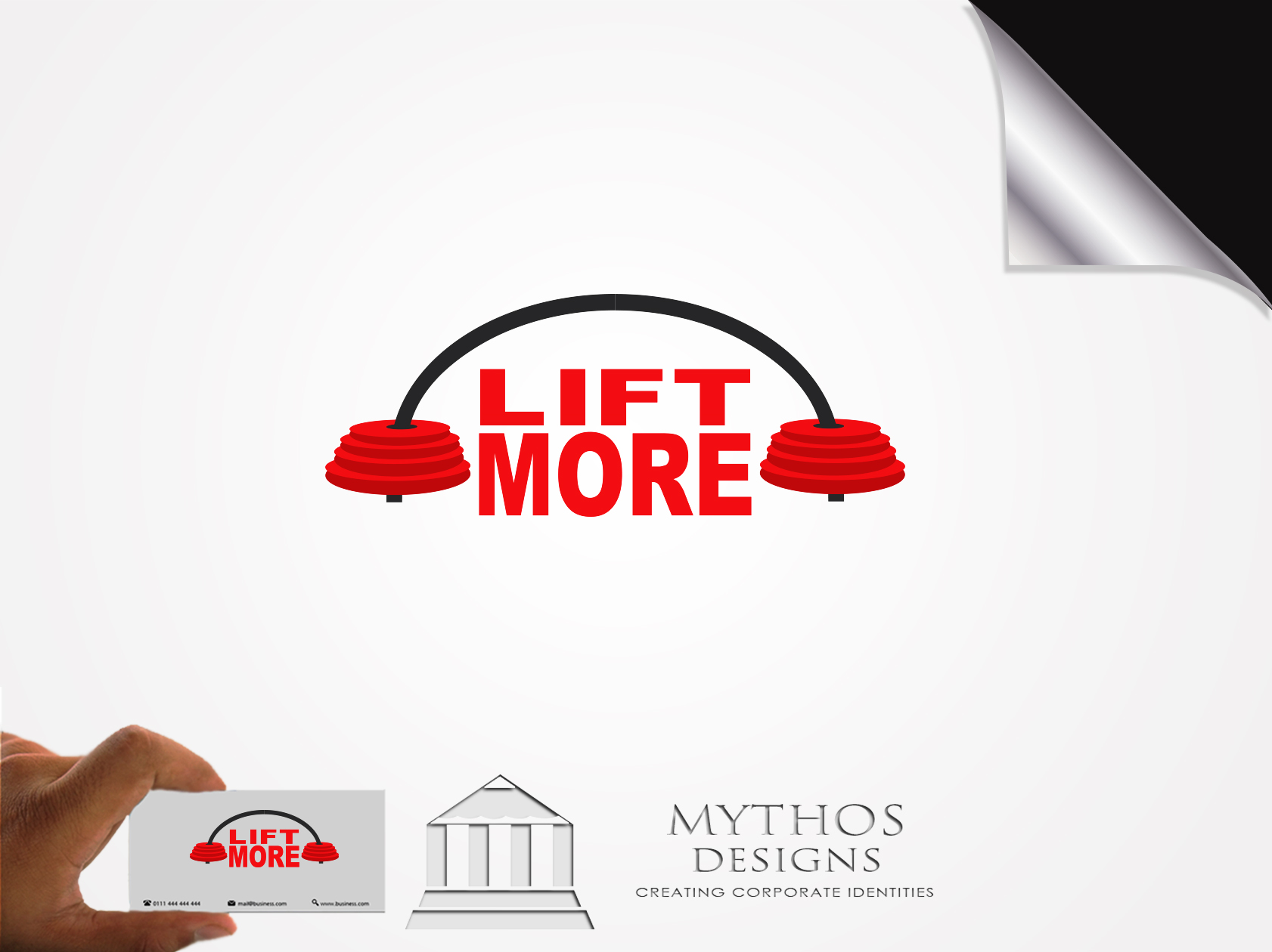 Logo Design by Mythos Designs - Entry No. 71 in the Logo Design Contest Unique Logo Design Wanted for Liftmore.