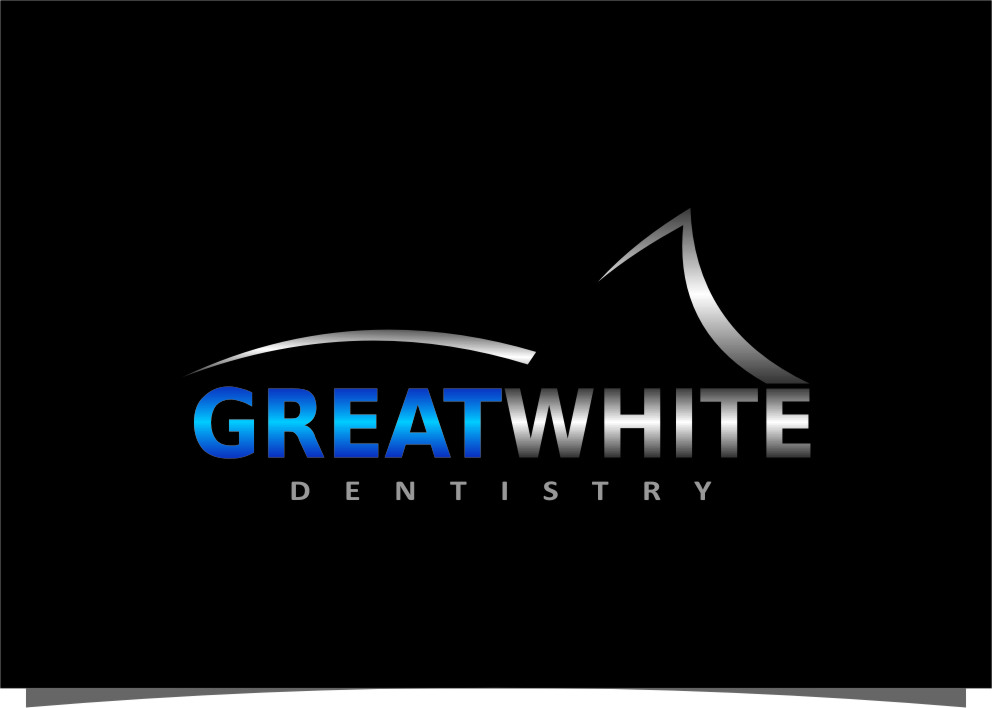 Logo Design by Ngepet_art - Entry No. 152 in the Logo Design Contest Logo Design for Great White Dentistry.