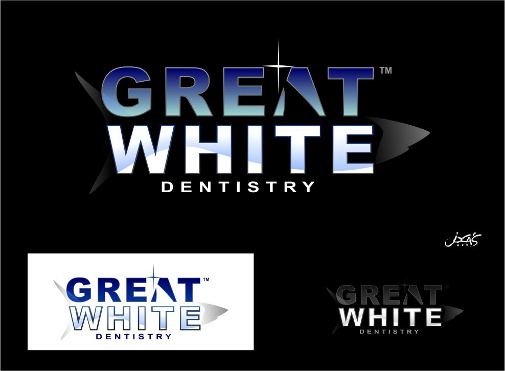 Logo Design by joca - Entry No. 155 in the Logo Design Contest Logo Design for Great White Dentistry.