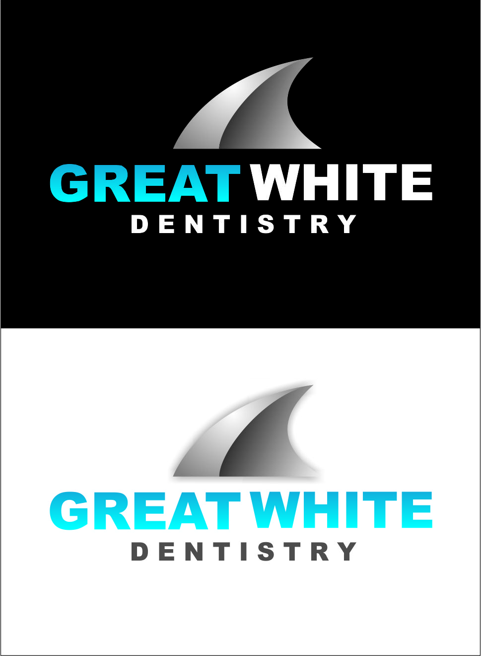 Logo Design by Agus Martoyo - Entry No. 158 in the Logo Design Contest Logo Design for Great White Dentistry.