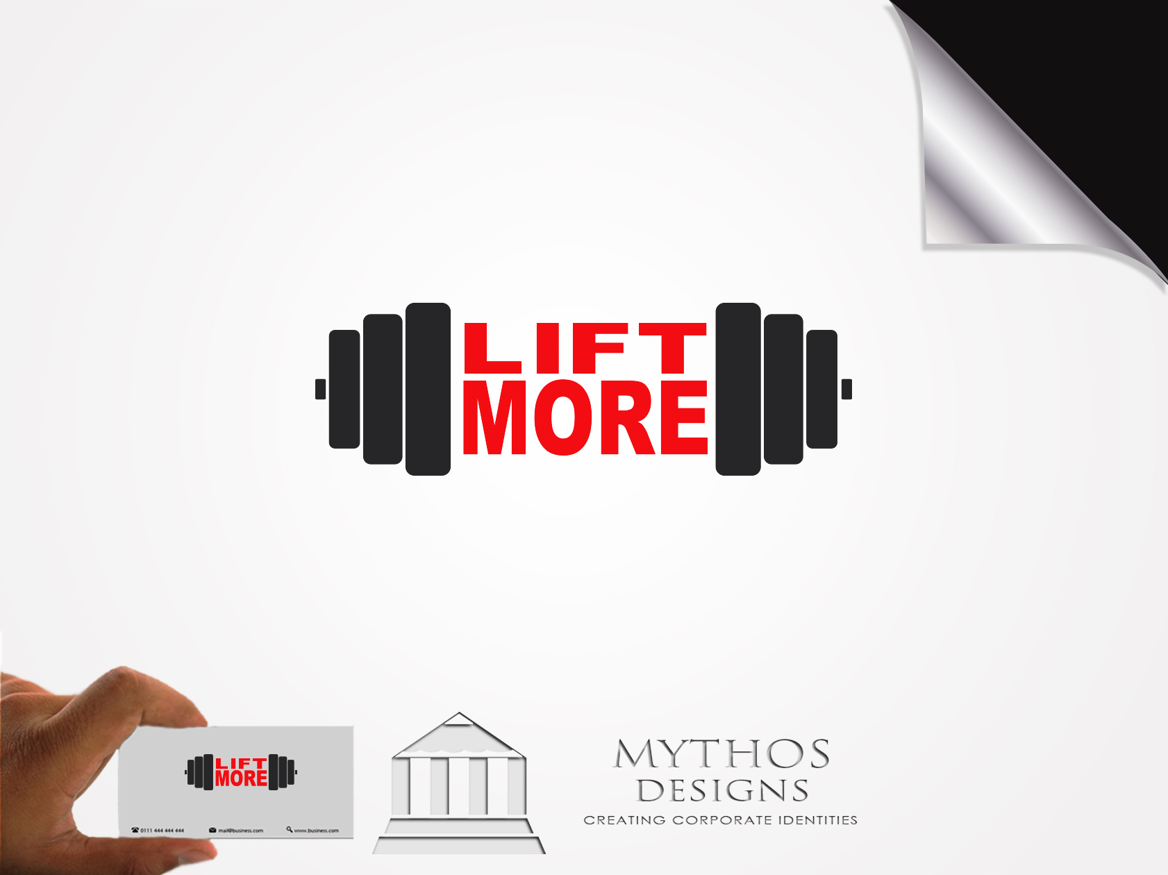 Logo Design by Mythos Designs - Entry No. 85 in the Logo Design Contest Unique Logo Design Wanted for Liftmore.