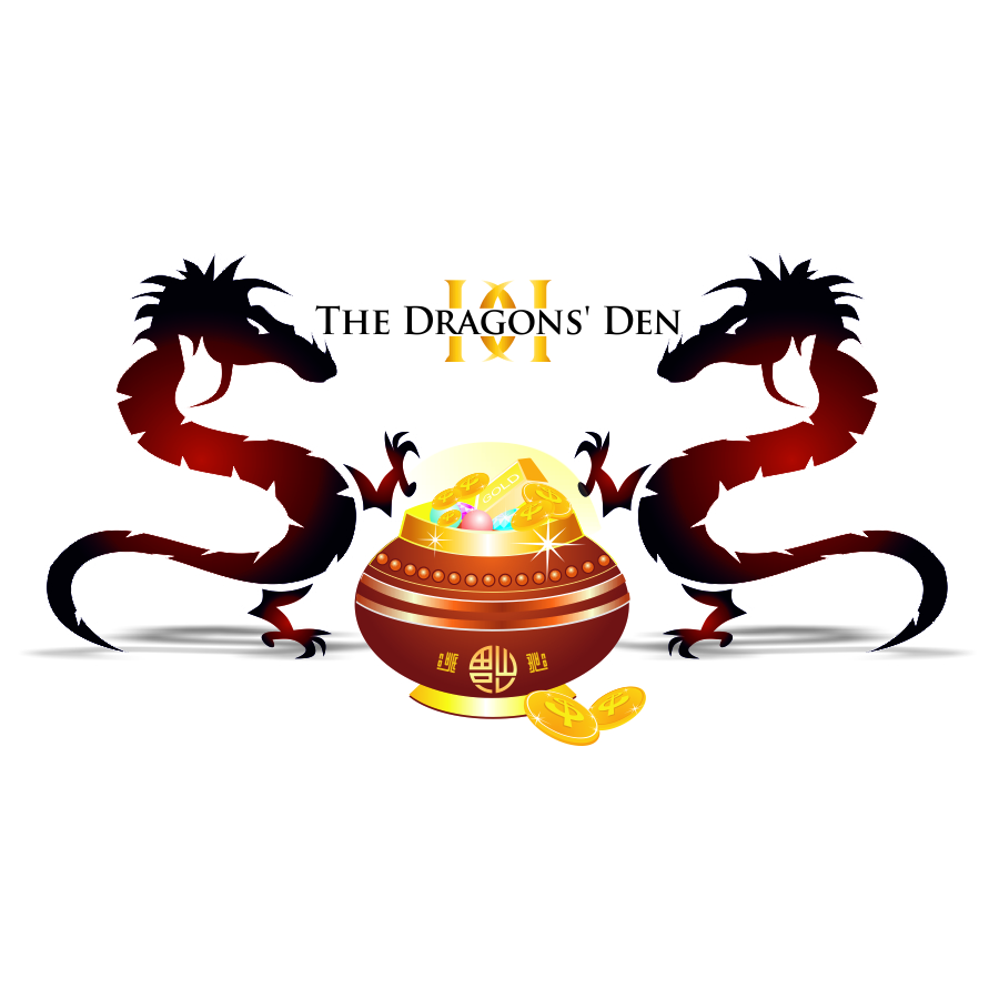 Logo Design by mare-ingenii - Entry No. 160 in the Logo Design Contest The Dragons' Den needs a new logo.