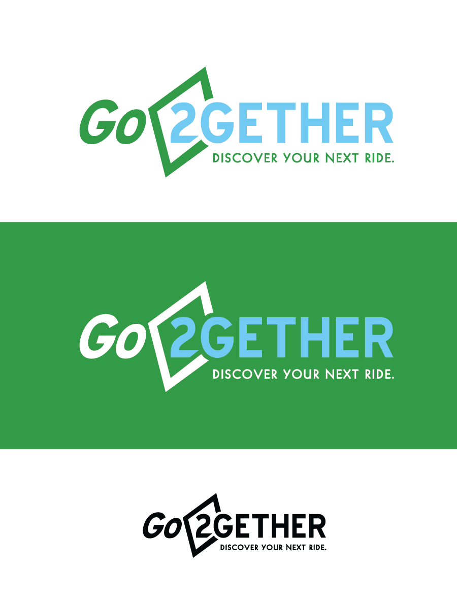 Logo Design by Christina Evans - Entry No. 11 in the Logo Design Contest Captivating Logo Design for GO2GETHER.