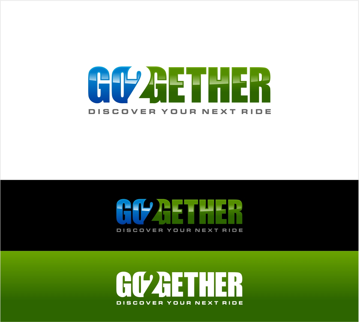 Logo Design by haidu - Entry No. 15 in the Logo Design Contest Captivating Logo Design for GO2GETHER.