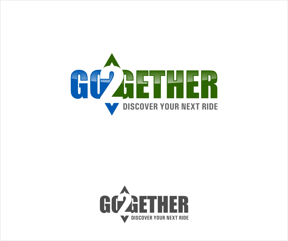 Logo Design by haidu - Entry No. 16 in the Logo Design Contest Captivating Logo Design for GO2GETHER.