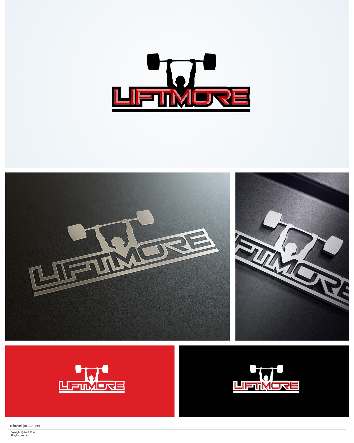 Logo Design by alocelja - Entry No. 109 in the Logo Design Contest Unique Logo Design Wanted for Liftmore.