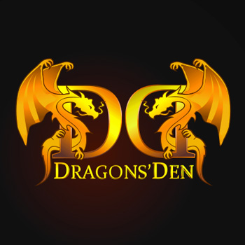 Logo Design by she_ven - Entry No. 166 in the Logo Design Contest The Dragons' Den needs a new logo.