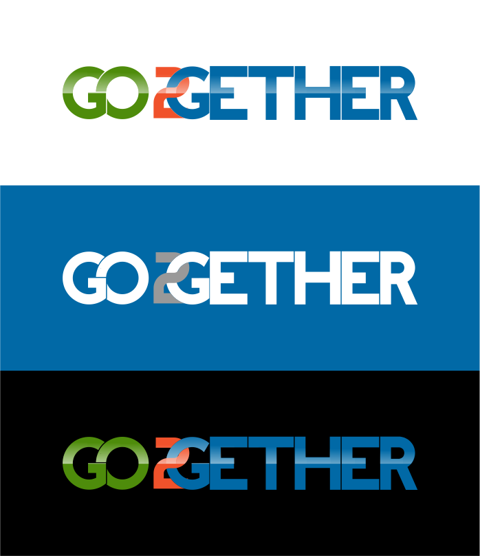 Logo Design by R1CK_ART - Entry No. 17 in the Logo Design Contest Captivating Logo Design for GO2GETHER.