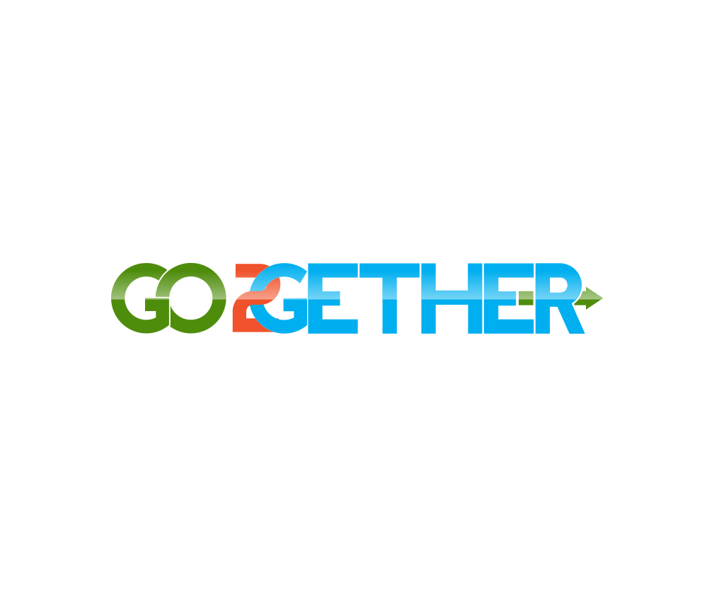 Logo Design by R1CK_ART - Entry No. 19 in the Logo Design Contest Captivating Logo Design for GO2GETHER.