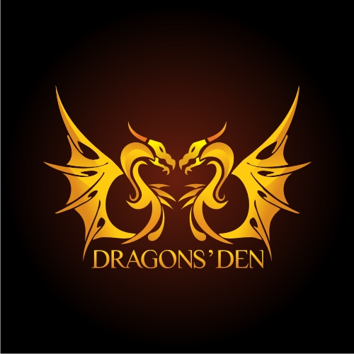 Logo Design by OverDozes - Entry No. 167 in the Logo Design Contest The Dragons' Den needs a new logo.