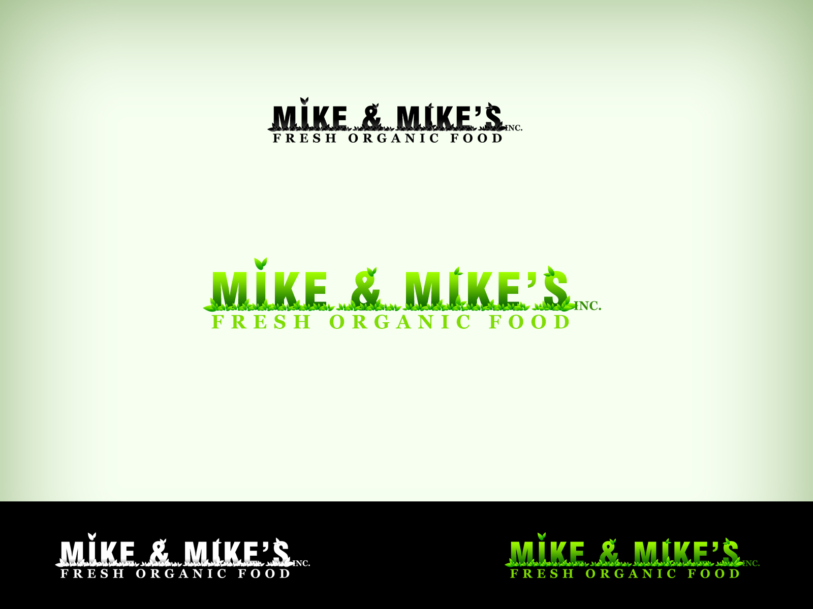Logo Design by Virgilio Pineda III - Entry No. 37 in the Logo Design Contest Captivating Logo Design for Mike and Mike's Inc..