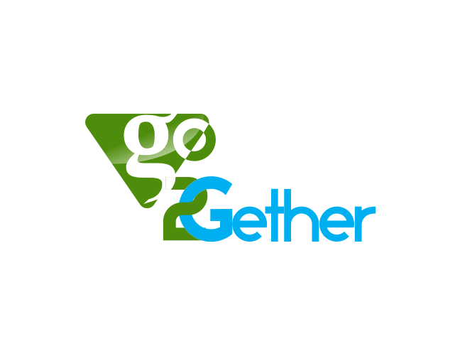 Logo Design by R1CK_ART - Entry No. 21 in the Logo Design Contest Captivating Logo Design for GO2GETHER.