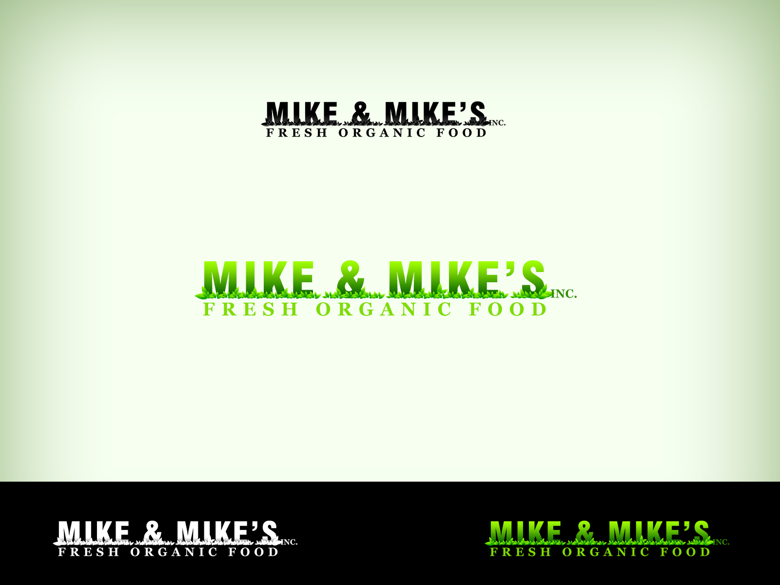 Logo Design by Virgilio Pineda III - Entry No. 38 in the Logo Design Contest Captivating Logo Design for Mike and Mike's Inc..