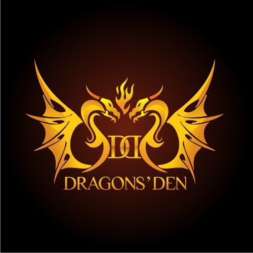 Logo Design by OverDozes - Entry No. 169 in the Logo Design Contest The Dragons' Den needs a new logo.