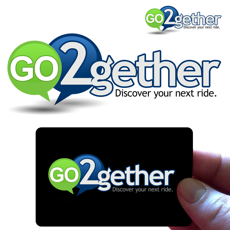 Logo Design by Private User - Entry No. 22 in the Logo Design Contest Captivating Logo Design for GO2GETHER.
