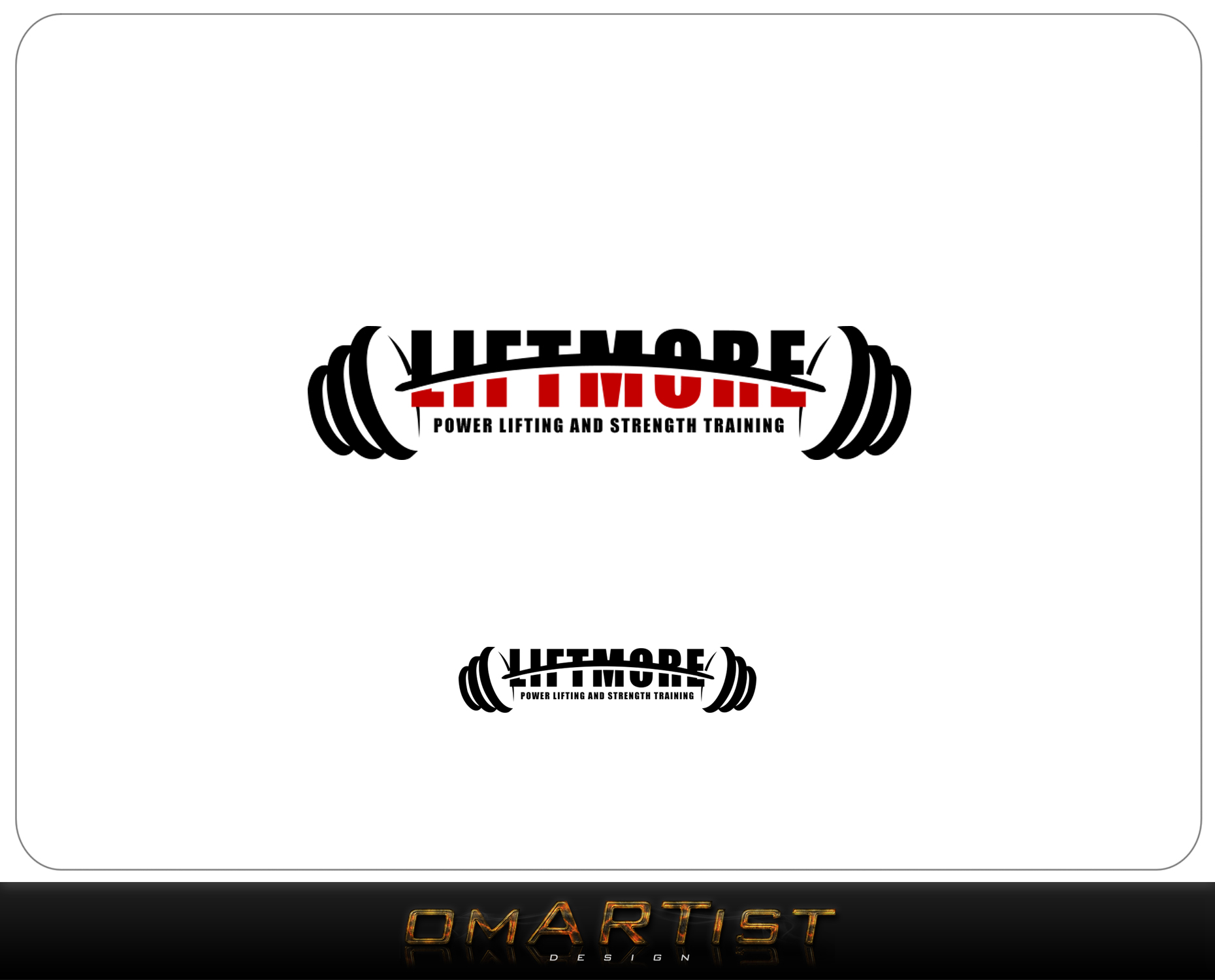Logo Design by omARTist - Entry No. 129 in the Logo Design Contest Unique Logo Design Wanted for Liftmore.