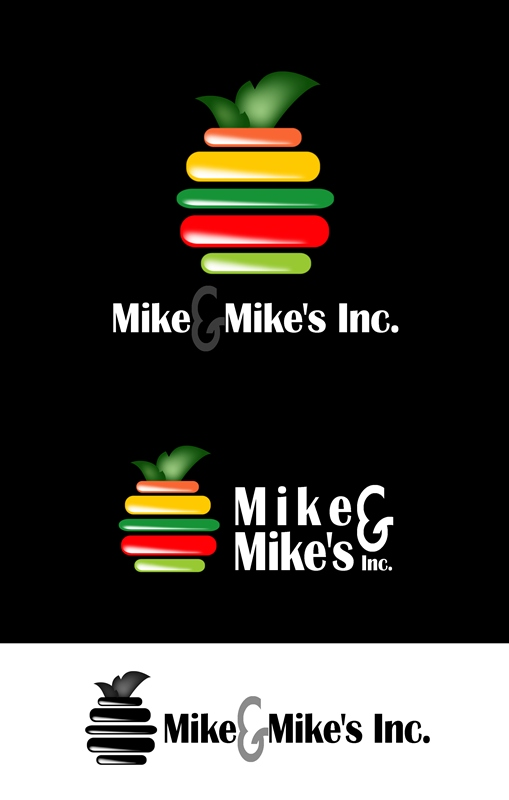 Logo Design by Respati Himawan - Entry No. 42 in the Logo Design Contest Captivating Logo Design for Mike and Mike's Inc..