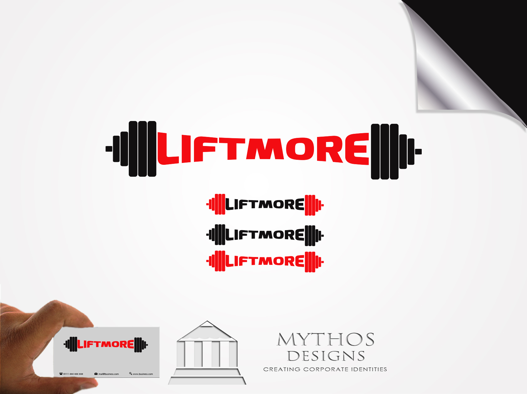 Logo Design by Mythos Designs - Entry No. 137 in the Logo Design Contest Unique Logo Design Wanted for Liftmore.