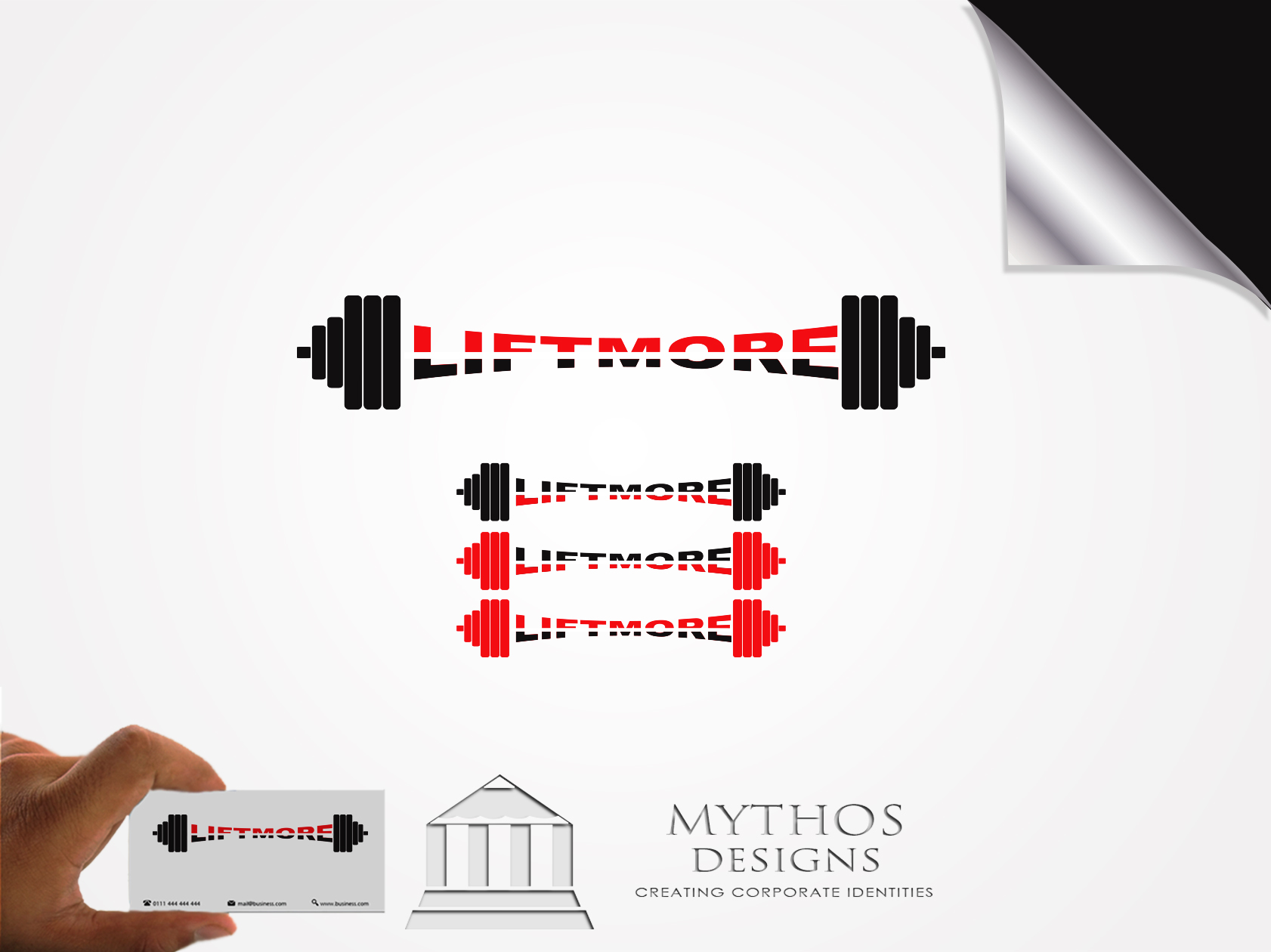 Logo Design by Mythos Designs - Entry No. 141 in the Logo Design Contest Unique Logo Design Wanted for Liftmore.