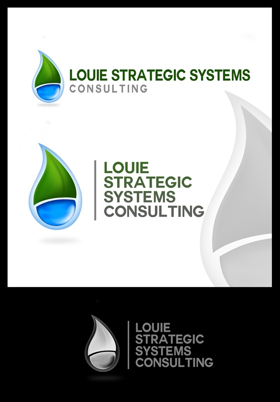 Logo Design by Respati Himawan - Entry No. 53 in the Logo Design Contest Artistic Logo Design for Louie Strategic Systems Consulting.