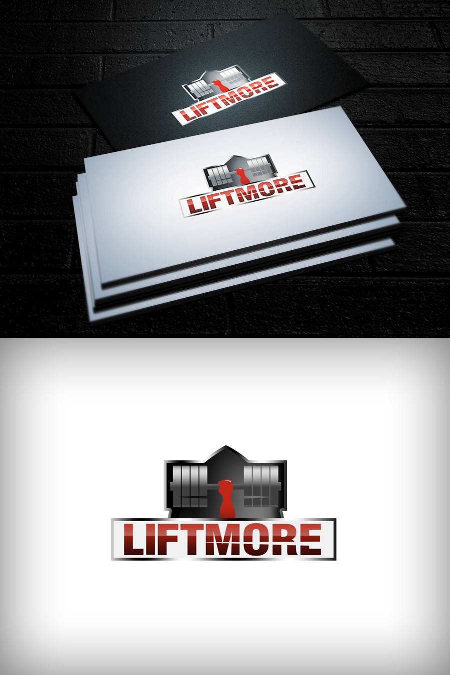 Logo Design by Virgilio Pineda III - Entry No. 143 in the Logo Design Contest Unique Logo Design Wanted for Liftmore.