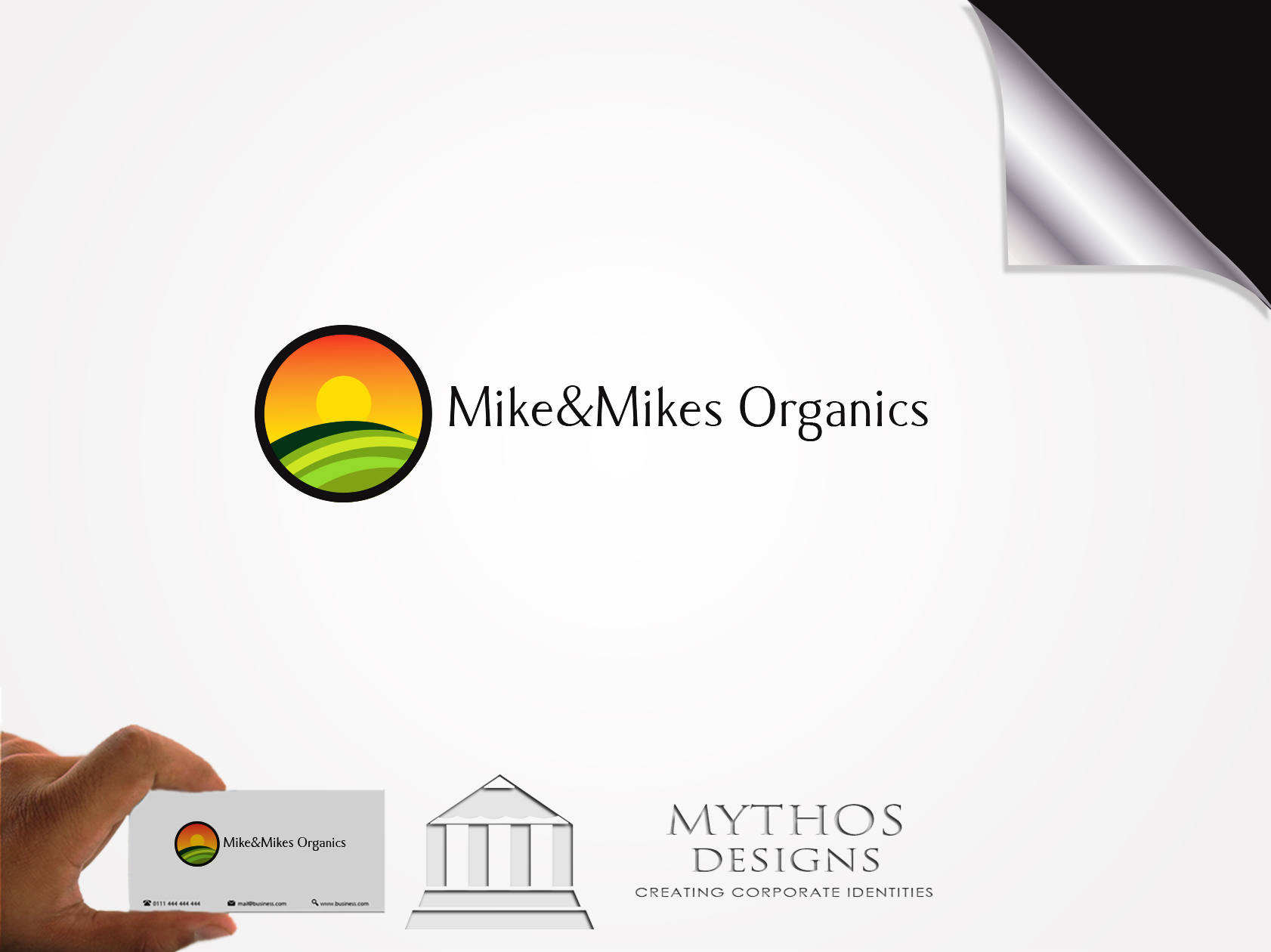 Logo Design by Mythos Designs - Entry No. 44 in the Logo Design Contest Captivating Logo Design for Mike and Mike's Inc..