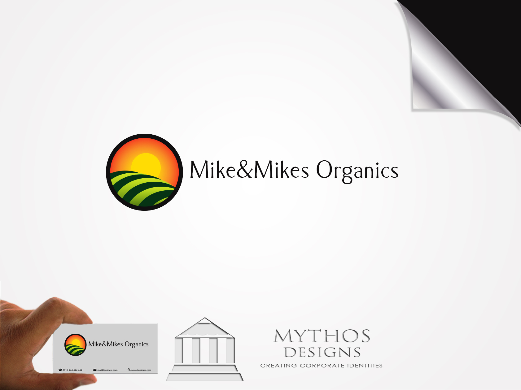 Logo Design by Mythos Designs - Entry No. 45 in the Logo Design Contest Captivating Logo Design for Mike and Mike's Inc..