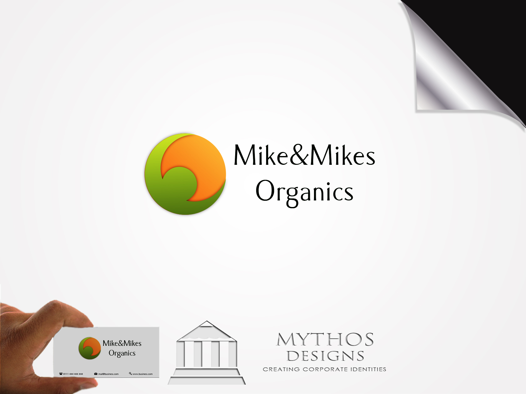 Logo Design by Mythos Designs - Entry No. 47 in the Logo Design Contest Captivating Logo Design for Mike and Mike's Inc..