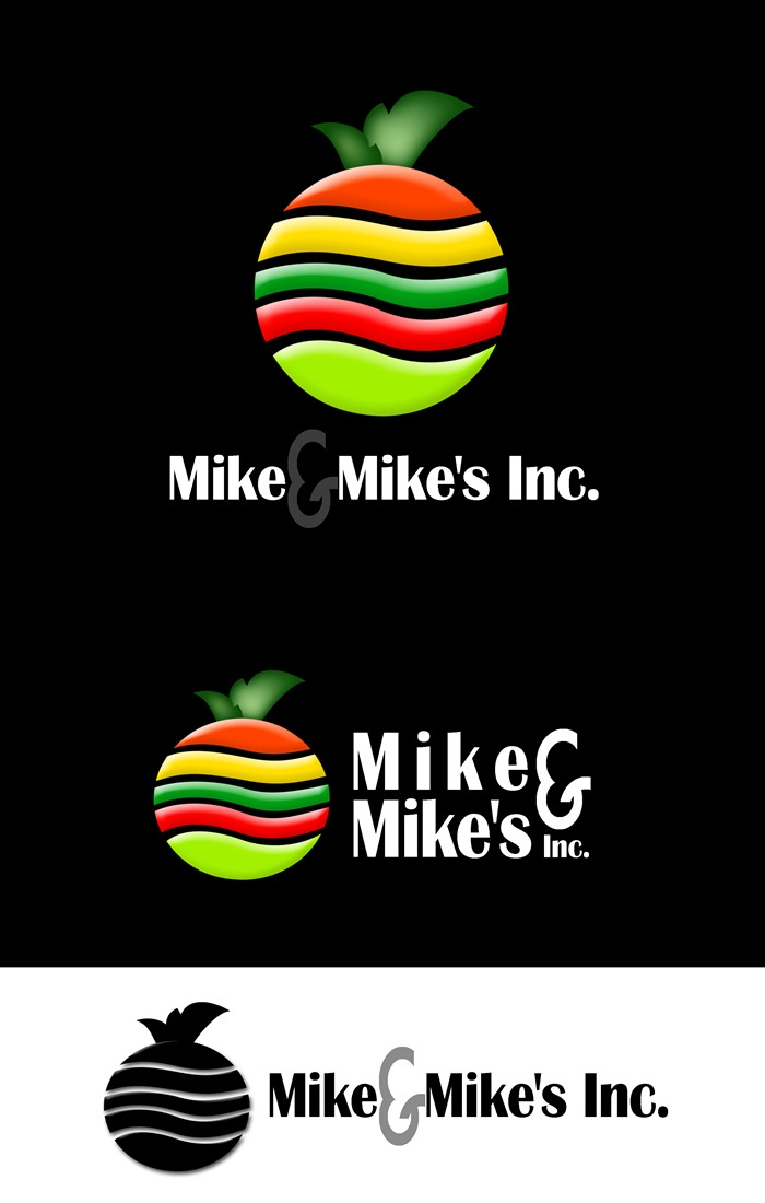 Logo Design by Respati Himawan - Entry No. 49 in the Logo Design Contest Captivating Logo Design for Mike and Mike's Inc..