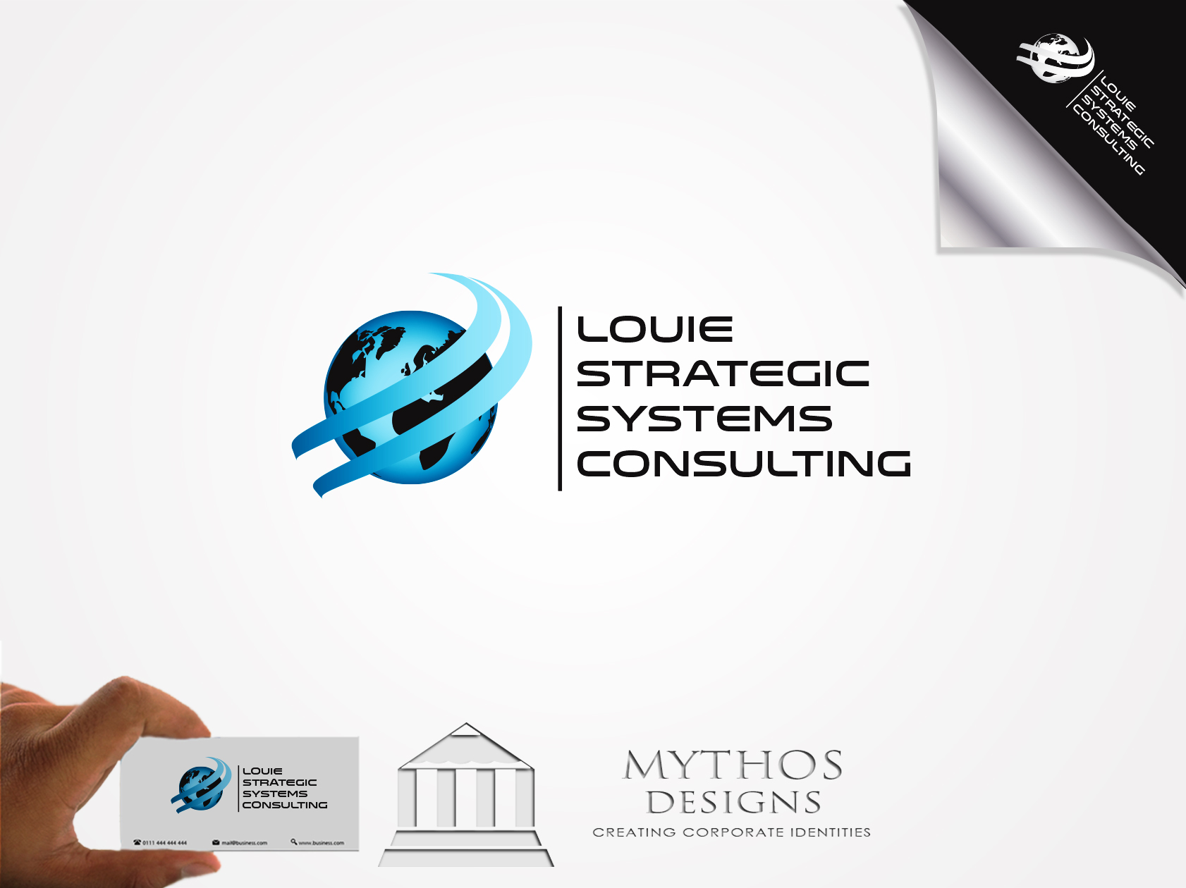 Logo Design by Mythos Designs - Entry No. 56 in the Logo Design Contest Artistic Logo Design for Louie Strategic Systems Consulting.