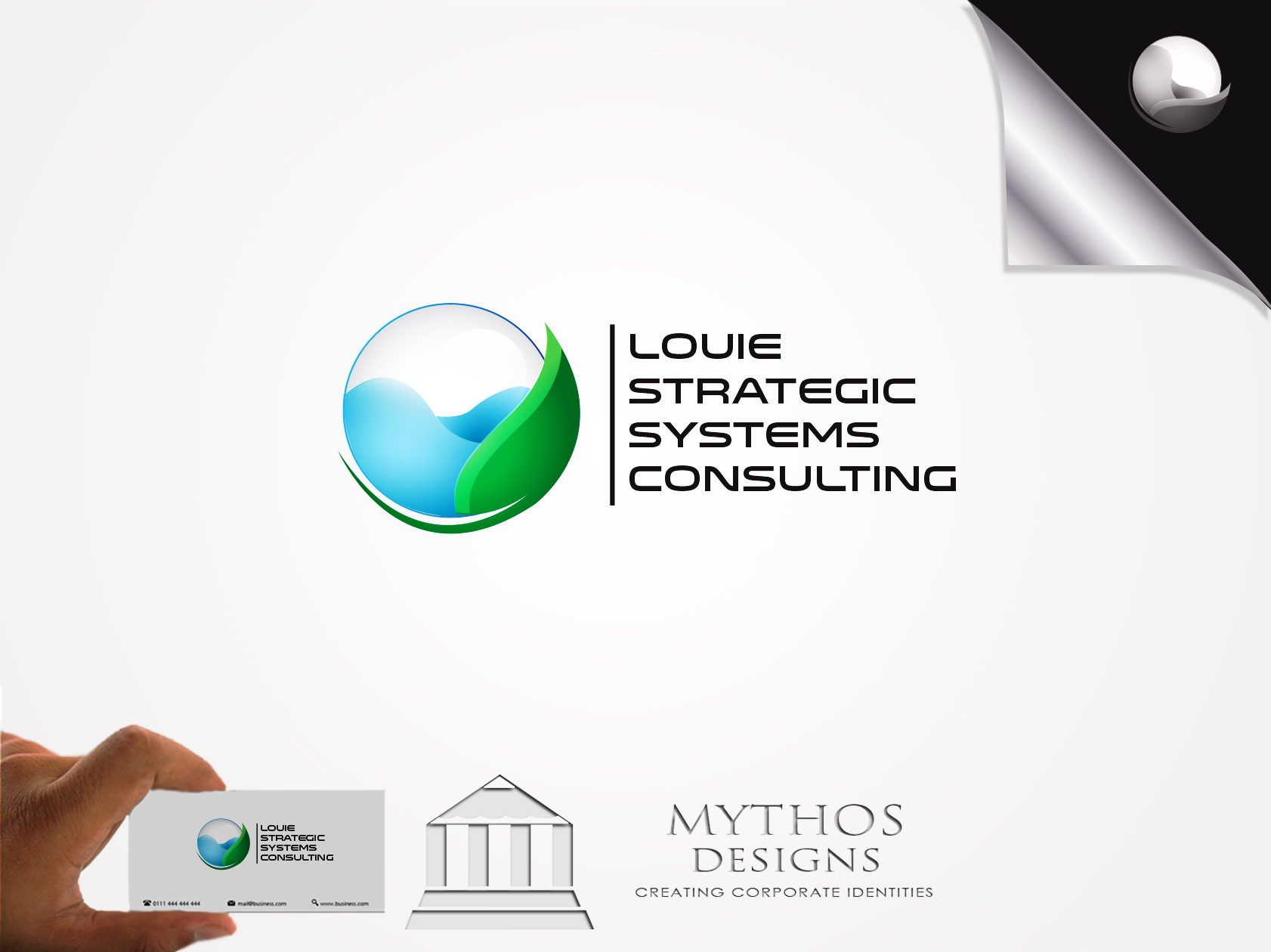 Logo Design by Mythos Designs - Entry No. 57 in the Logo Design Contest Artistic Logo Design for Louie Strategic Systems Consulting.