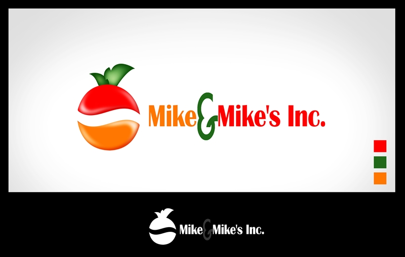 Logo Design by Respati Himawan - Entry No. 51 in the Logo Design Contest Captivating Logo Design for Mike and Mike's Inc..