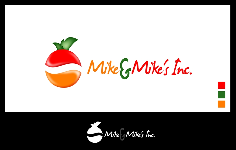 Logo Design by Respati Himawan - Entry No. 52 in the Logo Design Contest Captivating Logo Design for Mike and Mike's Inc..