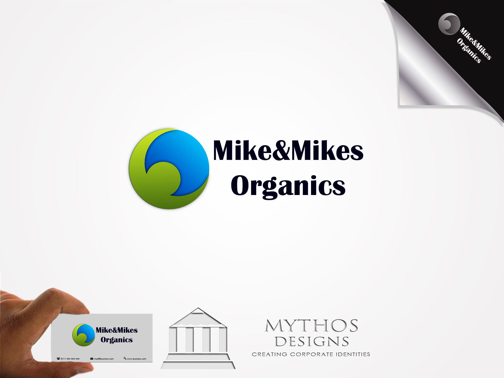 Logo Design by Mythos Designs - Entry No. 53 in the Logo Design Contest Captivating Logo Design for Mike and Mike's Inc..