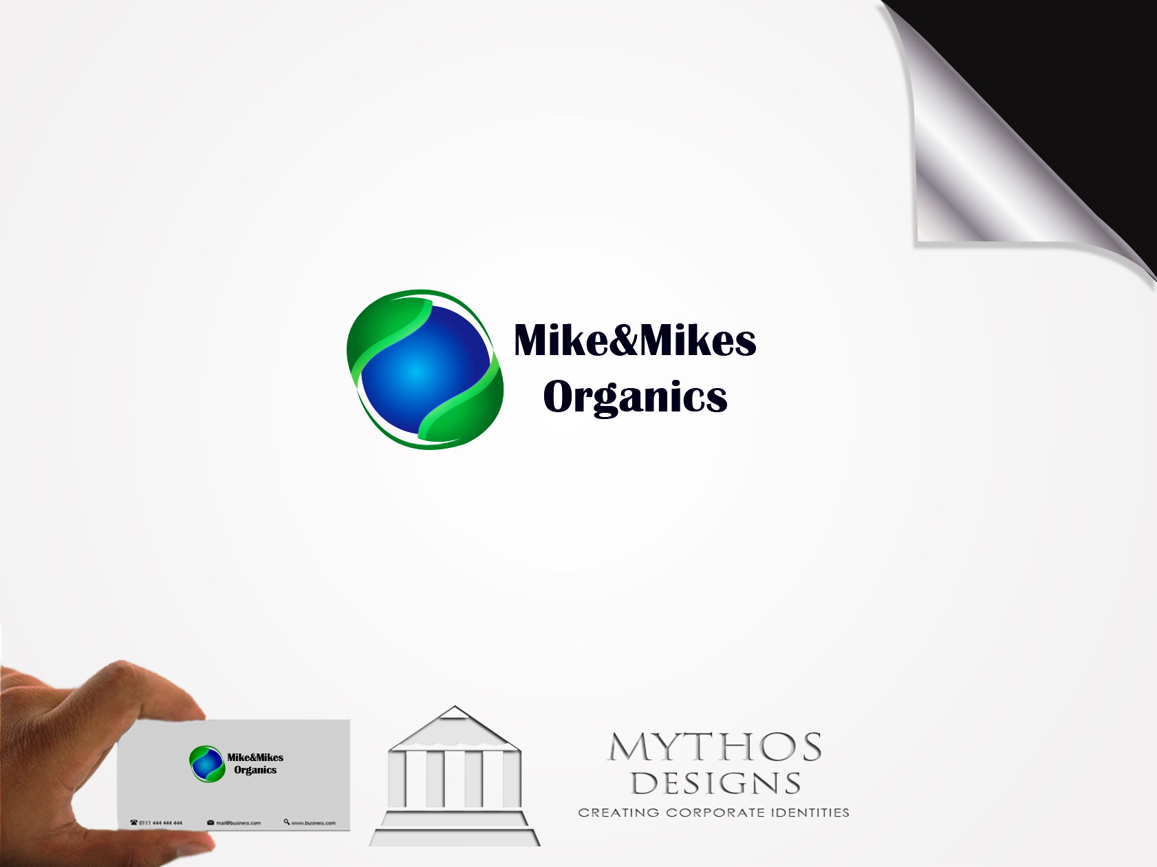 Logo Design by Mythos Designs - Entry No. 55 in the Logo Design Contest Captivating Logo Design for Mike and Mike's Inc..