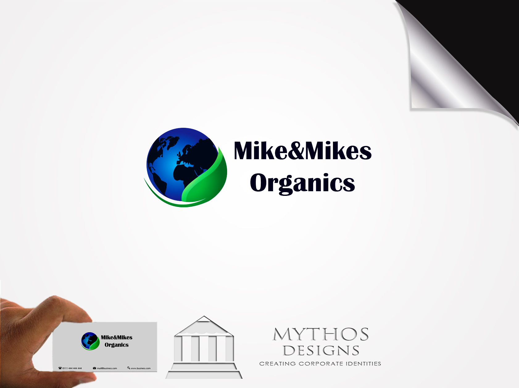 Logo Design by Mythos Designs - Entry No. 56 in the Logo Design Contest Captivating Logo Design for Mike and Mike's Inc..