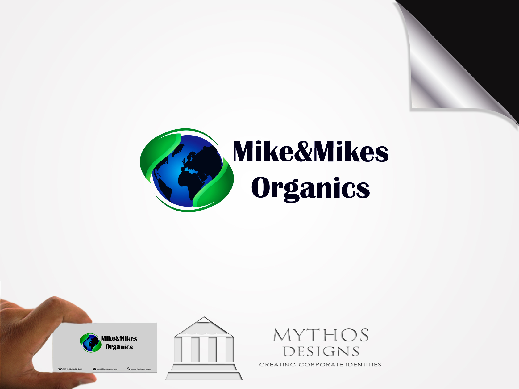 Logo Design by Mythos Designs - Entry No. 57 in the Logo Design Contest Captivating Logo Design for Mike and Mike's Inc..