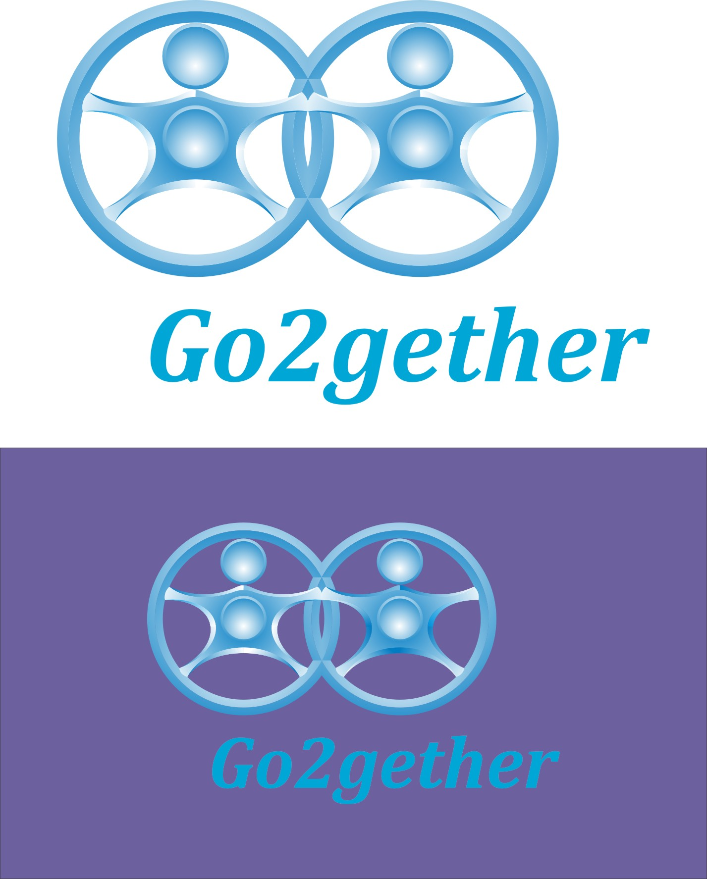 Logo Design by Korsunov Oleg - Entry No. 26 in the Logo Design Contest Captivating Logo Design for GO2GETHER.